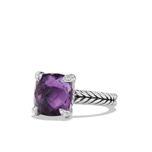 David yurman chatelaine amethyst ring 💜